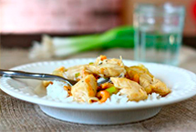 Ginger Honey Cashew Chicken